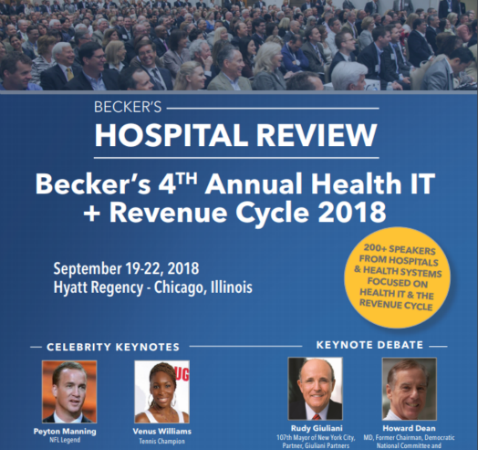 Becker's Health IT + Revenue Cycle Conference