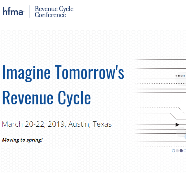 2019 HFMA Revenue Cycle Conference