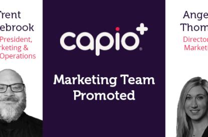 Capio Marketing Team Promoted
