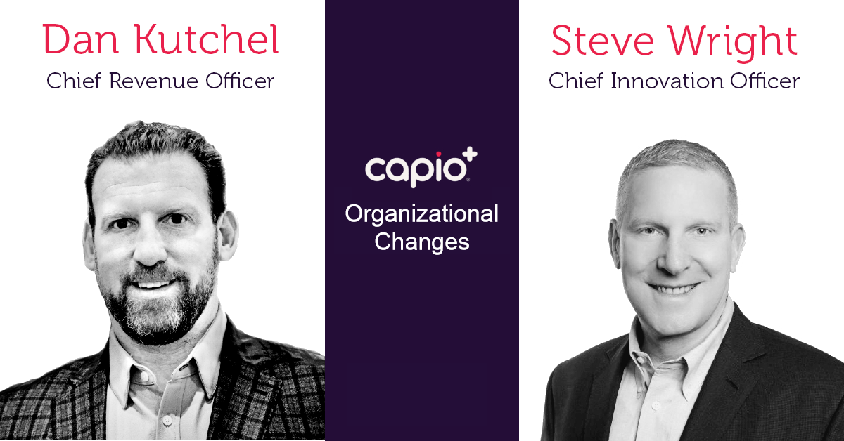 Dan Kutchel promoted to Chief Revenue Officer, Steve Wright now Chief Innovation Officer