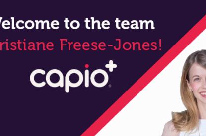 welcome christiane freese-jones vp produect capio