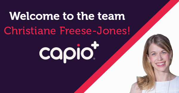 Capio Appoints Christiane Freese-Jones Vice President Product Management